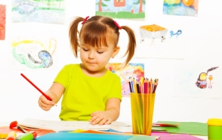 bigstock-Cute-Girl-Draw-With-Pencil-61349669