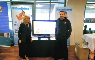 childcarefinder-orange-dinosaur-conference