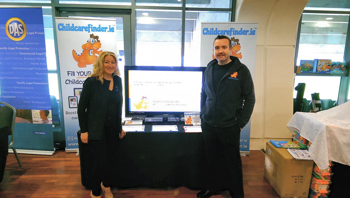 childcarefinder-orange-dinosaur-conference